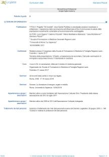 Damiano Pizzuti Europass CV